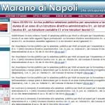 Campania: concorso in provincia di Napoli