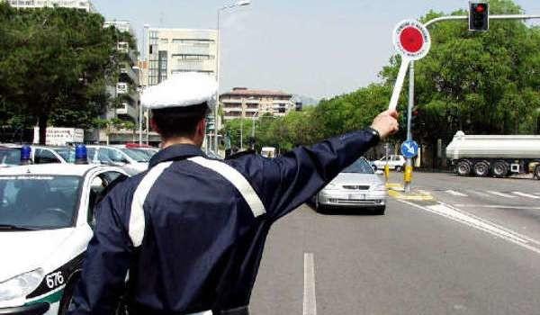 Vigili urbani in Campania