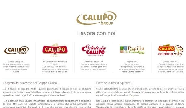 Calabria: selezioni nel gruppo Callipo