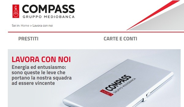 Opportunità da Compass in Calabria