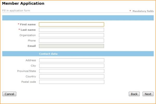 Form di candidatura, la guida