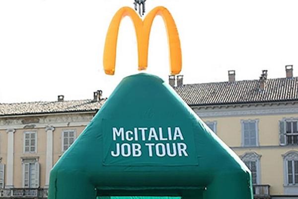 Campania, 40 posti di lavoro da McDonald's